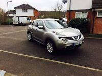 2015 Nissan Juke 1.2 DIG-T Acent 50+ MPG Salvage Damaged Repairable qashqai