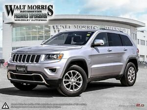2016 JEEP GRAND CHEROKEE LIMITED: NO ACCIDENTS, ONE OWNER, LOADE