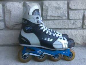Bauer Vapor Inline Skates (Rollerblades) HiLo Shifter XL Chassis 72mm/80mm