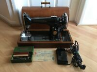 Vintage Singer 201K4 Electric Sewing Machine
