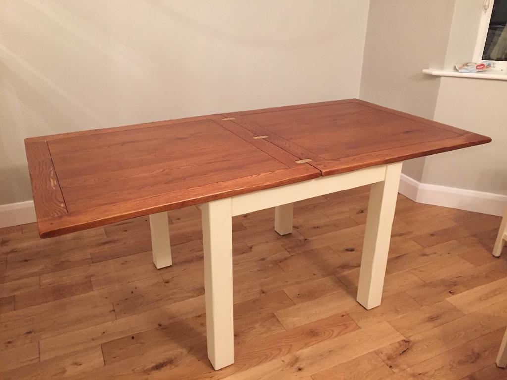 Solid Wood Extending Dining Table In Wetherby West Yorkshire