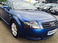 2005 Blue Audi TT 1.8 Petrol, HPI Clear, 1 Year MOT, Audi service History , Excellent Condition