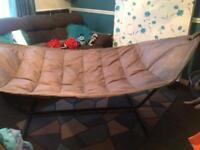Garden hammock and parasol