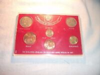 1967 British Coin Set. * Great Gift Idea for 50th Birthday or Golden Wedding *