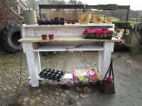 Potting Table,Planting Table, Garden Table, Potting, Potting Bench,potting station,Plant pots,plants