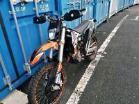 KTM, EXC, 2009, 249 (cc)
