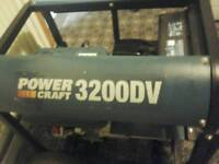 POWER CRAFT 3200 DV PETROL GENERATOR