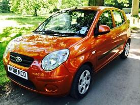 Stunning Kia picanto only 20k mileage in mint condition with new mot