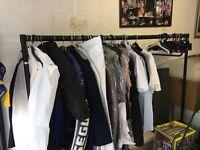 Clothes hanger heavy duty.