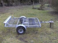 PENDLE FULLY GALVANISED 6 CYCLE TRANSPORTER CAR TRAILER