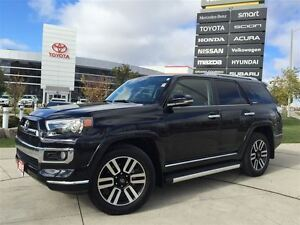 2015 Toyota 4Runner LIMITED - 1 OWNER 7 PASSENGER NAVIGATION LEA