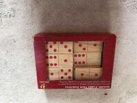Jumbo Farm wooden dominoes