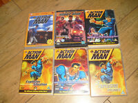 JOB LOT OF 6 ORIGINAL ACTION MAN DVDs