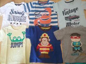 Bundle of Boy's Tshirts 2 - 3 Years