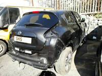 NISSAN JUKE 1.2 TURBO 2015 BREAKING FOR SPARES ALL PARTS AVAILABLE. FRONT END SMASH