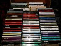 48 x AUDIO BOOKS CD - THRILLERS CRIME ETC