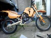 Rx125 swaps for cruiser/ chopper bike or offers