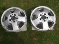 Genuine Mercedes A Class W168 Alloy Wheels A1684010602