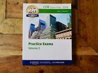 Kaplan Schweser CFA Level 1 Practice Exams Volume 2