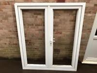 Double glazed patio doors UPVC