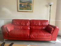 3 - Seater Leather Couch