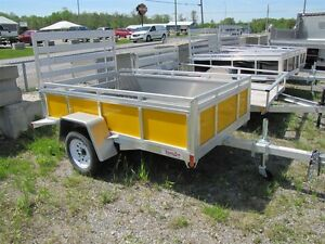 2016 Mission Trailers 5x8 ALUMINUM UTILITY TRAILER Peterborough Peterborough Area image 1