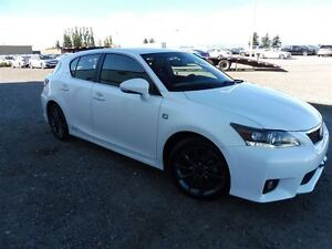 2012 Lexus CT 200h Bluetooth Leather Sunroof