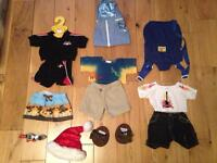 Build a Bear Workshop Boys Clothes Bundle
