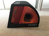 Subwoofer with built in amplifier