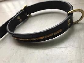Leather dog collar 26inch