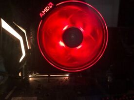 AMD RYZEN 3700X WITH WRAITH PRISM COOLER