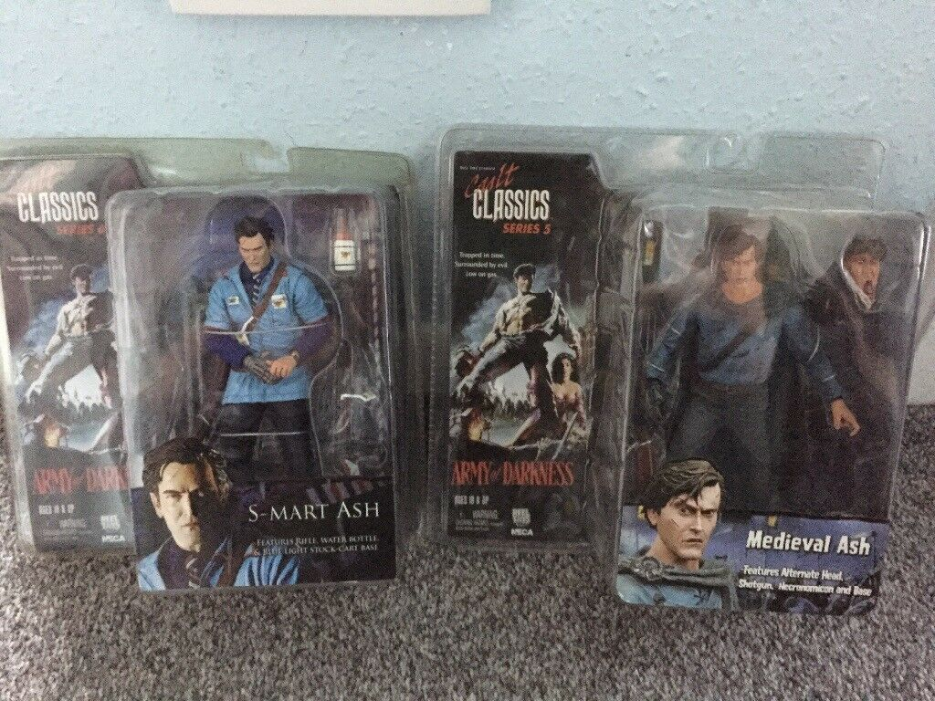 Rare Army Of Darkness NECA Figures