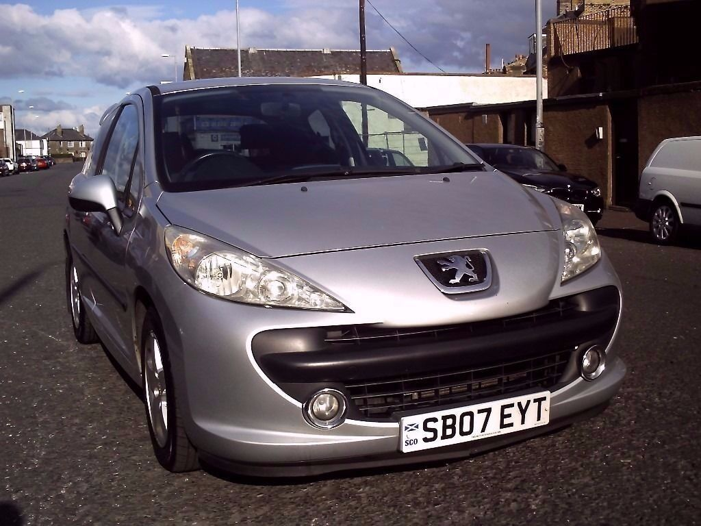 2007 07 PEUGEOT 207 1.4 SPORT 3DR ** MOT 29TH JUNE 2017 **