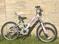 Claud Butler Girl's Bicycle - suitable for age 5 - 7 approximately
