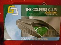Brand New The Golfers Club Collection Putting Machine