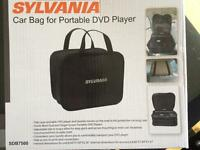 Sylvania car bag for portable dvd player