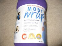 Moby wrap with instruction booklet