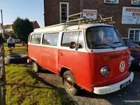 'Vw type 2 bay window camper tax exempt