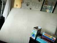 King size form mattress