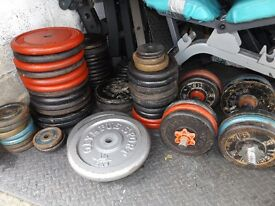 Standard cast iron weights 1 inch - £1 PER KG