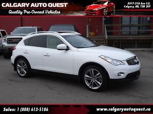 2013 Infiniti EX37 TECH-PKG AWD/NAVI/360 CAM/LEATHER/SUNROOF