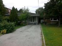3 bedroom semi detached with finished basement.