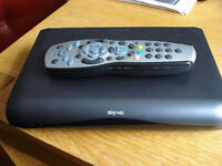 Sky HD Extra Room Box Model DRX595, with remote.