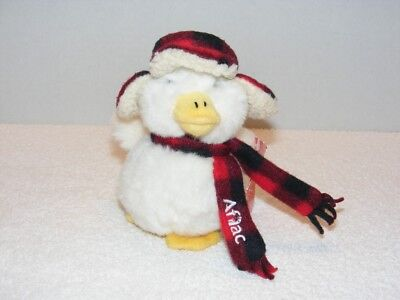 Nwt Macys Aflac Holiday Duck   Non Working Quot 6  Plush Doll