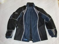 Frank Thomas Lady Rider textile jacket and trousers, both size LL small