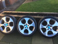 VW Golf Gti wheels with tyres