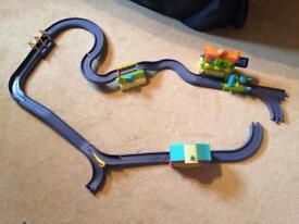 Chuggington die cast train set track bundle