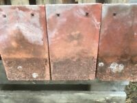 Reclaimed Red Concrete Roof Tiles