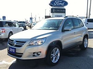 2010 Volkswagen Tiguan TSI 4Motion, LOW KM'S, CLEAN CARPROOF