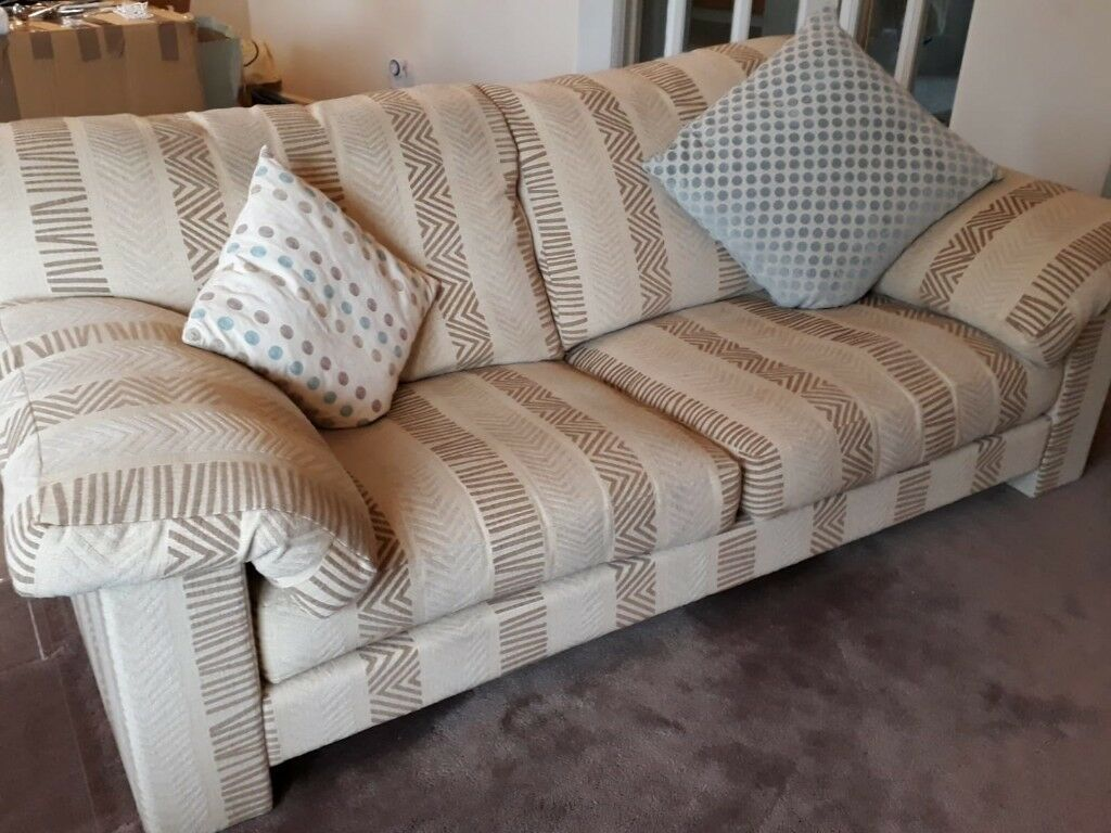 Beautiful Michael Tyler Sofa Chair And Footstool